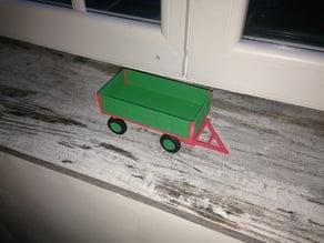 siku old trailer (vieille benne avec dolly )