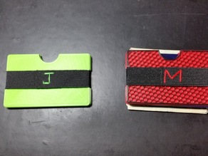Slim Wallet Inspired by MOD