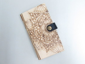 Laser Cut Wooden Phone Cover