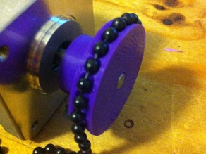 Ball-Chain Pulley for Polargraph
