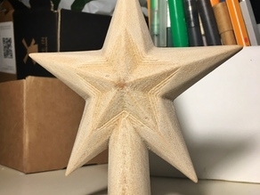 Faceted Star decorations