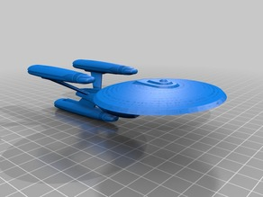 Star Trek TNG Niagara Class redux & variants