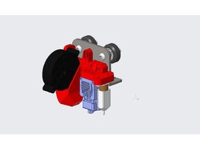 Modular Mosquito Hotend Mount for creality CR-10/Ender_3
