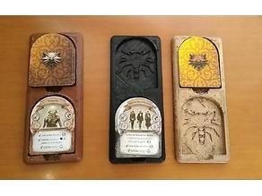 The Witcher monster-token holder