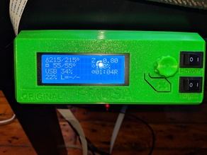 Prusa i3 Mk3 LCD Cover Mod With Multi Color