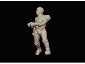 Z-Block Dominion Enforcer (28mm Scale)