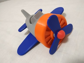 Plane - Cute Little Mono Plane