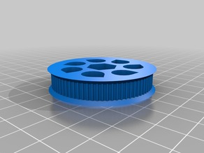 Parametric Belt Biggear for Wades extruder