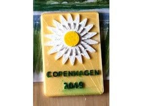 marguerite magnet for Copenhagen
