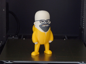 Mini Walter White (multi-material remix)