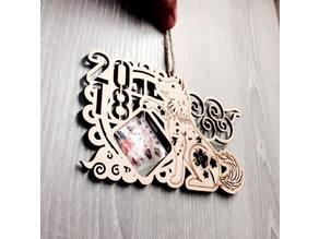 Chinese New Year of the Dog pendant