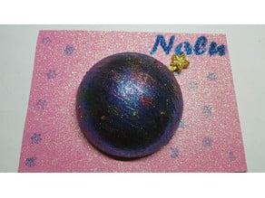 Electronic christmas ball