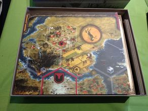 Scythe Organizer for Original Box (Contains All Expansions and Add-Ons)