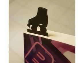 Roller skate bookmark