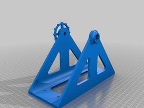 Upside - down filament holder