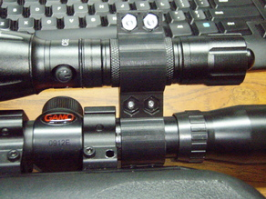 Flashlight Mount