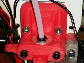 e3d v6 head clamp with mounting lugs.