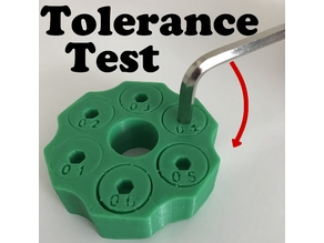 Tolerance Test Allen Key