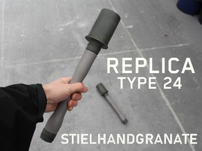 Replica Stielhandgranate