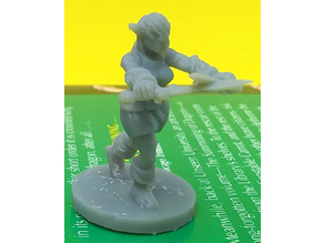 Female Elven Rogue