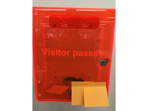 Acrylic box / mailbox