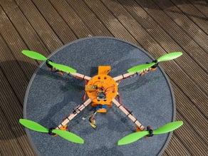 ElectroHub inspired Quadcopter