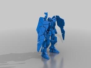 Gundam Dynames (manual repair..mostly watertight. still tons of shells) Printable...