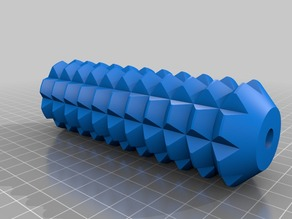 Spiked massage roller