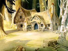 Snow White and the Seven Dwarfs' Cottage