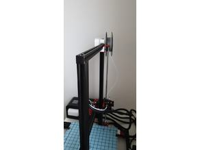 Filament spool holder for Alfawise U20 (parametric)