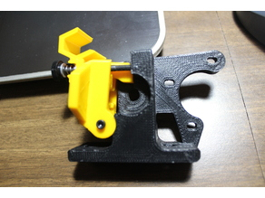 Lulzbot Modified Beefy Arm & Latch for Greg Wade Extruder