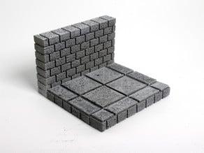 OpenForge Cut-Stone OpenLOCK Half Floors
