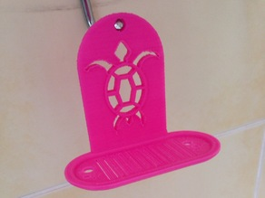 Turtle soap hanger