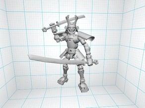Tinkerplay samurai