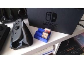 Nintendo Switch game cartridge display stand