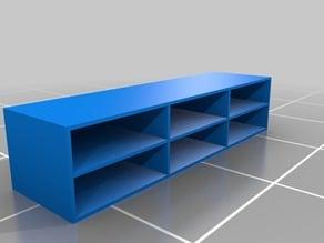 paint shelf