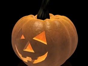 Halloween detailed pumpkin