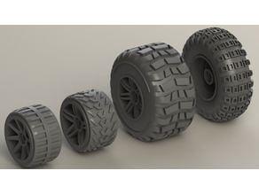 [EDIT:15 Sept 2018] GASLANDS Hot Wheels / Roue - Pneu