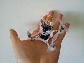 Micro 85 FPV Quadcopter - 8.5mm Motors, Micro Scisky, Quanum Pico, FRF3_EVO Brushed, fx798t