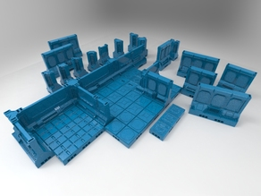 Niphilim's Modular Space Scenery with OpenLOCK
