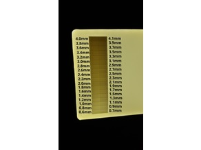 Lithopane Calibrator