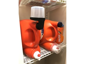 Laundry Detergent Cup Drain - remodeled