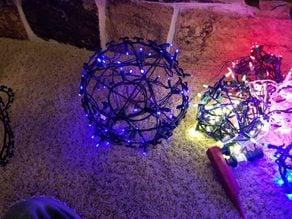 Large Light Ball, Christmas, Holiday, Decor