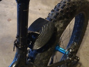 Fat Bike Mud Guard