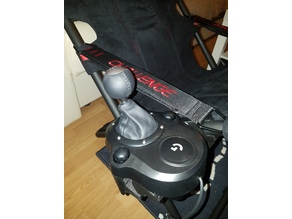 Playseat chair g29 gearshift support
