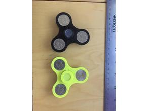 Nickel Fidget Spinners (C Bearing and 608 Bearing versions)