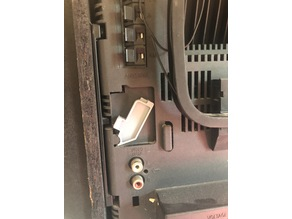 Sony FH-B5CD speaker retaining tab