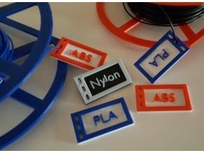 15 Labels for Filament