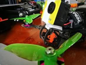 Eken H9R TPU mount for HSKRC Freestyle 250 True X frame