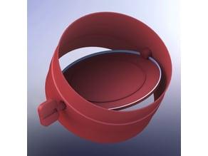 110mm air tube shutter